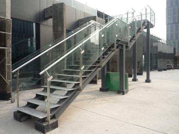 清远钢结构楼梯