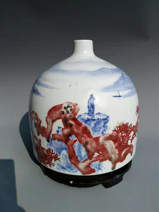 景德镇青花艺术瓷