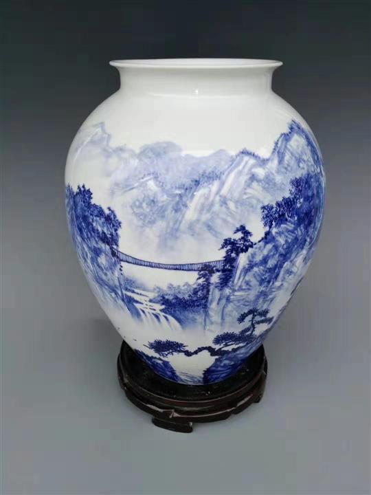 青花艺术瓷