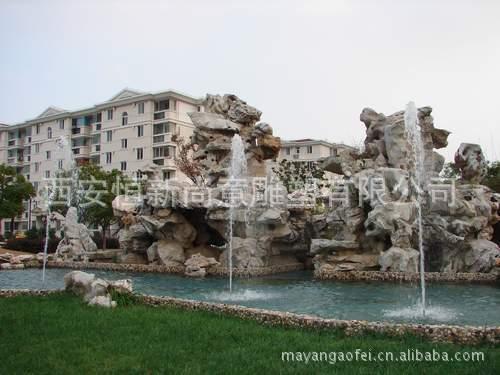 假山喷泉雕塑