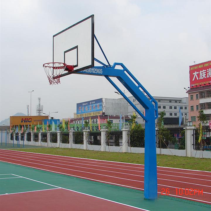 方管固定式篮球架  成人标准篮球架
