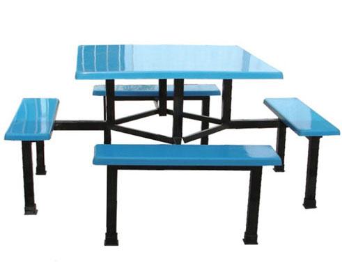 JXA039 八人方台条凳餐桌