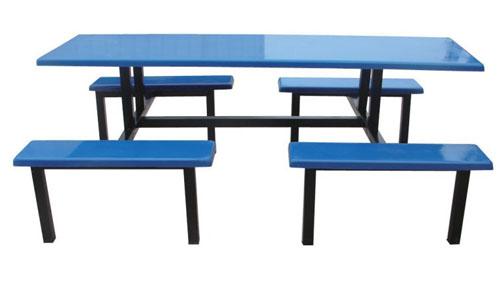 JXA032八人中分条凳餐桌