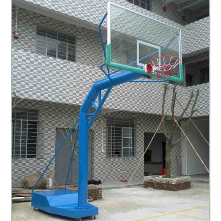 广东篮球架生产厂家,成人标准篮球架,固定式篮球架,篮球板更换