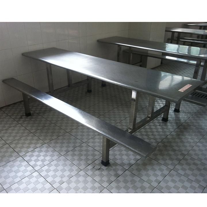 惠州不锈钢餐桌 深圳不锈钢食堂餐桌椅生产厂家