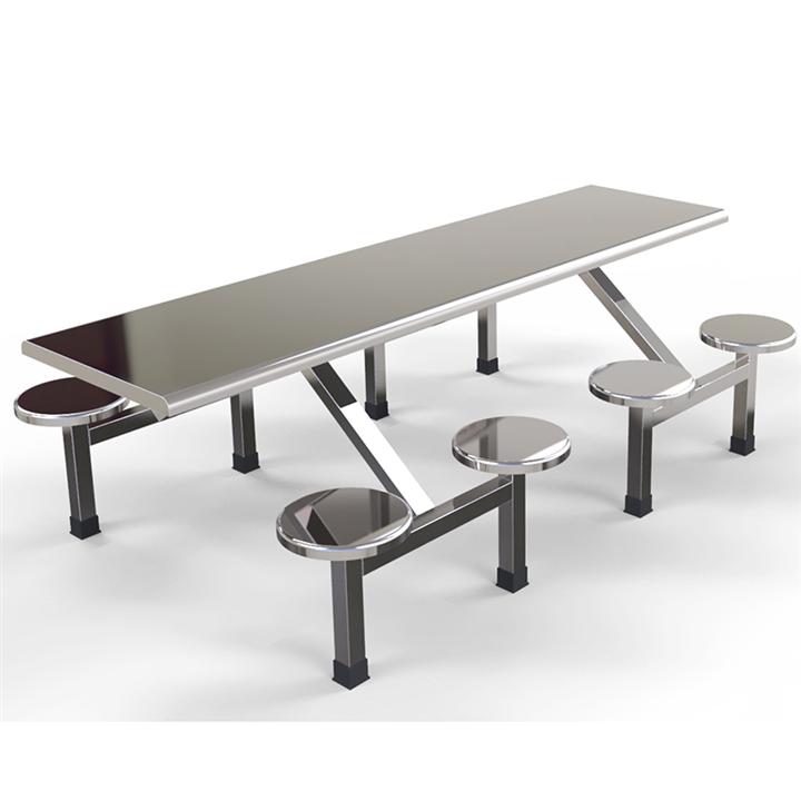 不锈钢餐桌椅 食堂餐桌椅 生产厂家