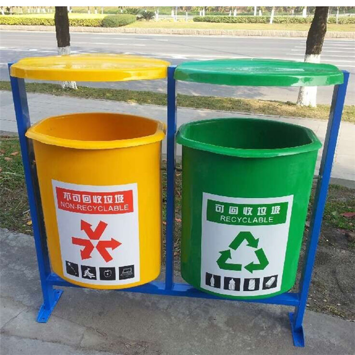 深圳户外垃圾桶 果皮箱 小区分类垃圾桶