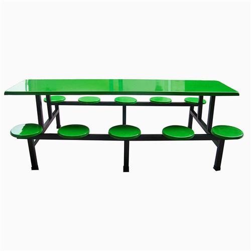 东莞十人位食堂餐桌椅