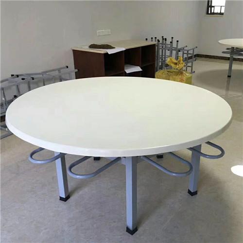 惠州圆形食堂餐桌