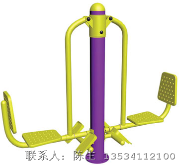 双人坐蹬/深圳室外健身器材/生产商