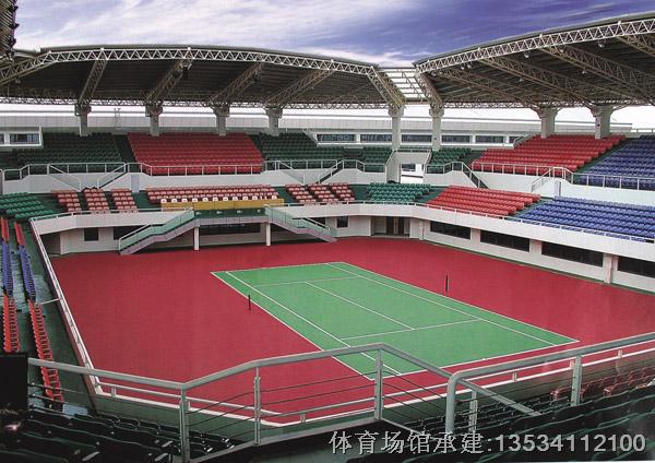 弹性丙烯酸网球场馆