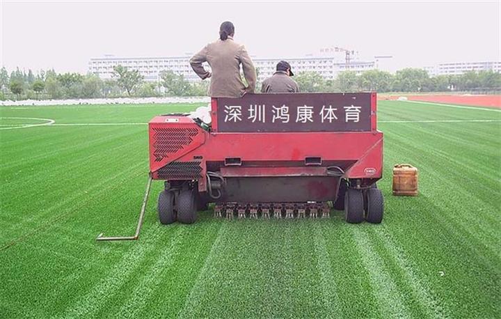 人造草铺摊