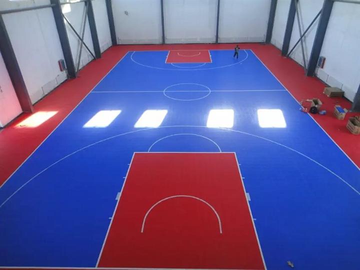室内篮球场悬浮地板