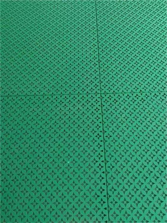 2016铜钱纹悬浮地板