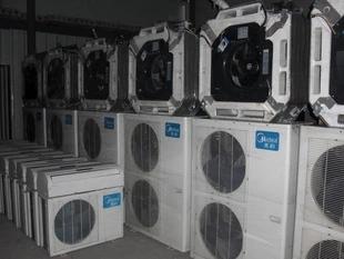 温州二手美的中央空调吸顶机多联机
