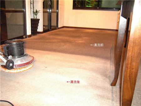 西安地毯清洗程序及标准