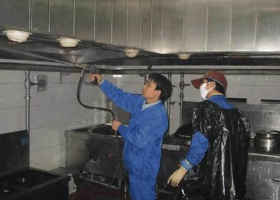西安酒店油烟管道清洗
