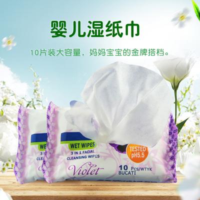 厂家生产加工湿纸巾湿巾方便携带客户可贴牌自有品牌